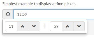 jquery tutorial timer bootstrap form helpers time picker jquery plugins