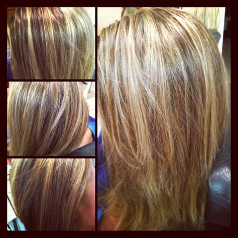 Gorgeous Tricolor Highlight Lowlight Pieced Haircolor It S All About The Hair Highlight Lowlights Hair Make Up Nails