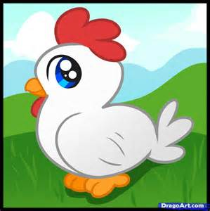 drawing images for kids how to draw a chicken for kids step by step animals for