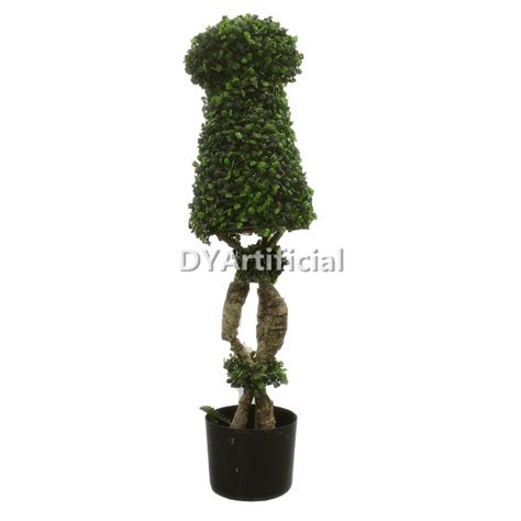 cheap topiary trees artificial 120cm outdoor uv protection artificial square topiary tree