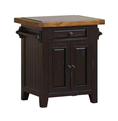 tuscan retreat granite top kitchen island black oxford