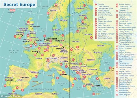 Secrets Of European by The Top Secret European Travel Locations You Really Should