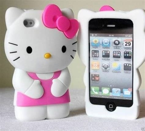 Hello 3d Soft For Iphone 5 Light Pink Free Stiker Antirad 3d soft silicone hello iphone 5 5c 5s pink