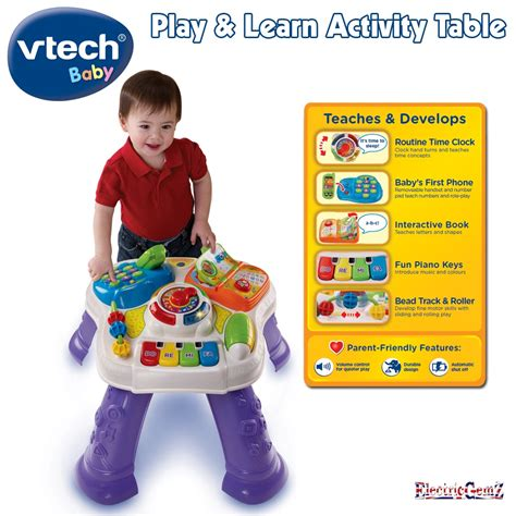 play and learn activity table huge bundle of baby toys vtech fisher price vgc