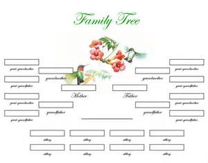 blank family tree template with siblings www imgkid com