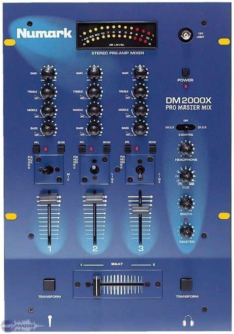 dj console numark dm2000x numark dm2000x audiofanzine