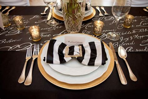 black and gold table setting black and gold table setting 5 ideas