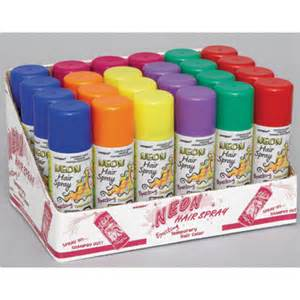colored hairspray bulk colored hair spray supplies neon hair spray