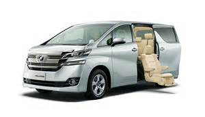 Toyota Pictures Toyota Unveils New Alphard And Vellfire Minivans In Japan