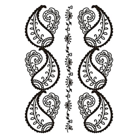 red henna temporary tattoo henna lower back temporary usimprints