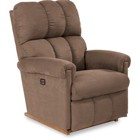 La Z Boy P10403 Aspen Power Rocker Recliner Driftwood