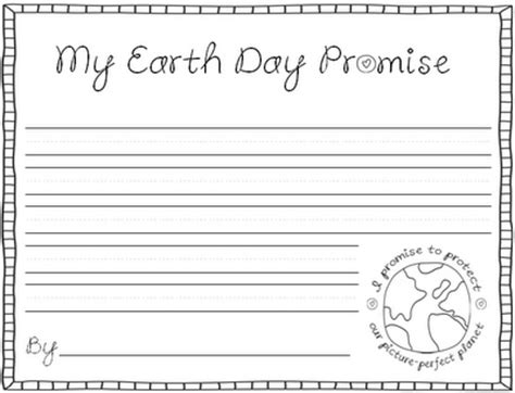 earth day writing paper earth day picture planet for learning