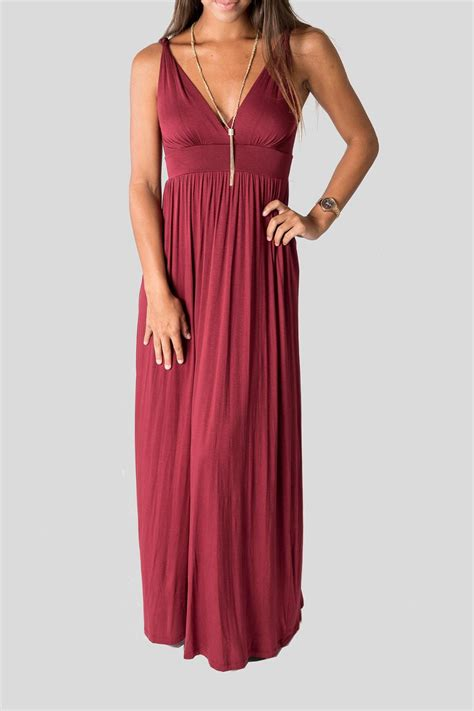 Wine Maxy wine maxi dress from florida by ellie nora shoptiques