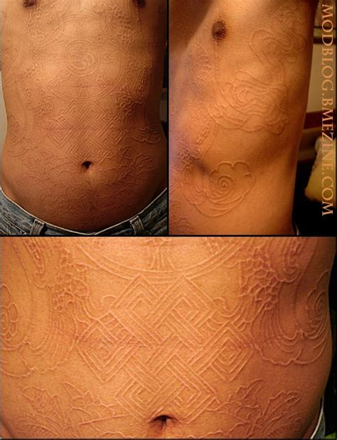 tattoo healing ugly 114 best scarification images on pinterest
