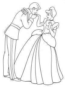 walt disney coloring pages prince charming amp princess