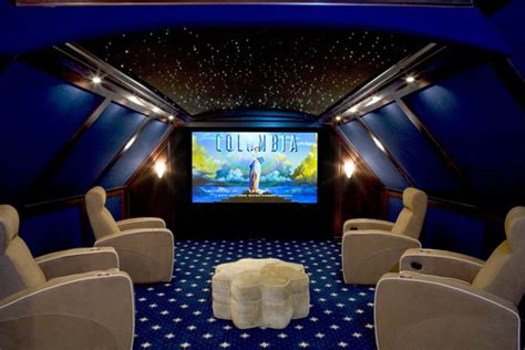 Home Theatre Ceiling by Ceiling Entertainment Technology