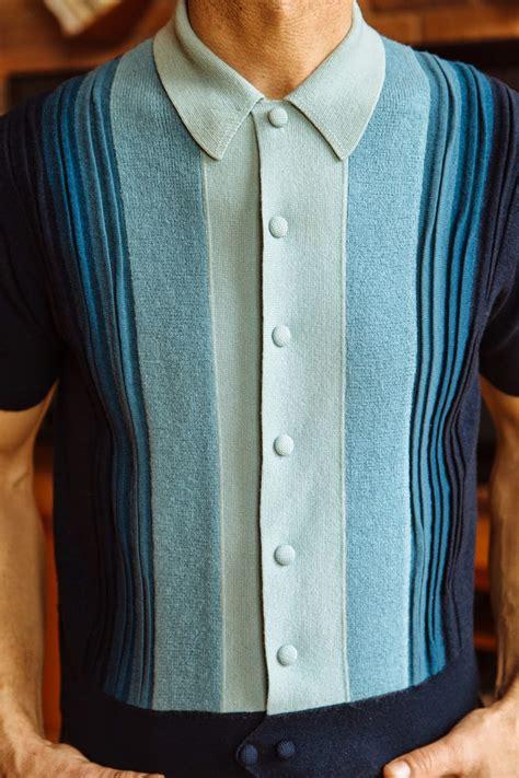 italian knit shirts parka avenue the italian knit when mod goes casual