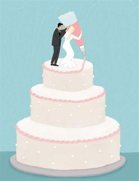 A Wedding Cake by How To Make A Diy A Wedding Cake Vogue