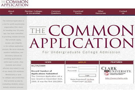 Common App Resume by Common App Resume College Confidential Common App Provides