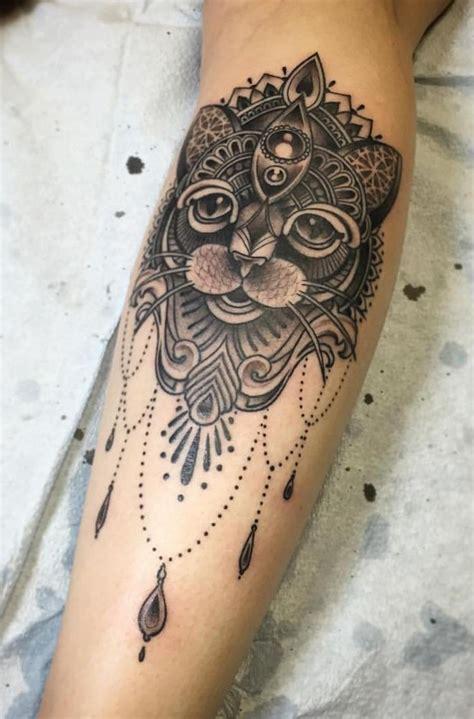 tattoo ink winnipeg cat mandala by stephen mcconnell main street tattoo