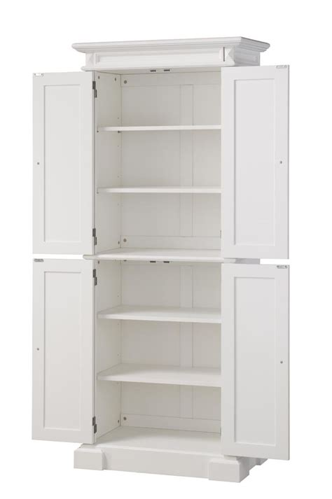 Tall White Pantry Cabinet With Kitchen 12 Inch Deep White Pantry Cabinets For Kitchen
