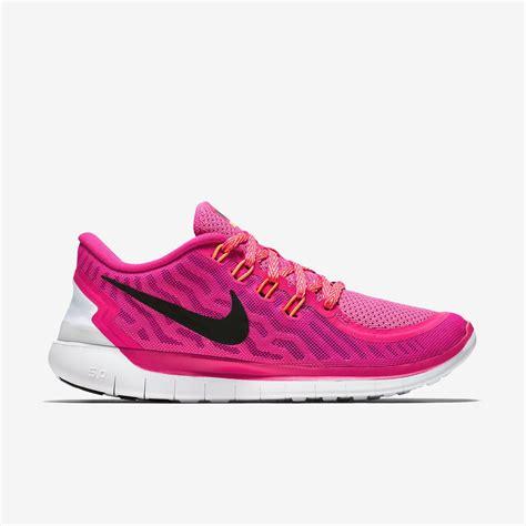 nike womens free 5 0 running shoes pink tennisnuts