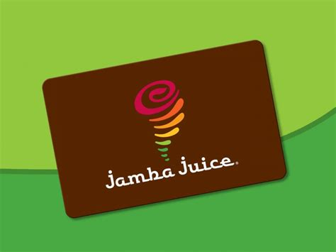 jamba juice company gift card the culinary scoop - Jamba Juice Gift Card Promotion