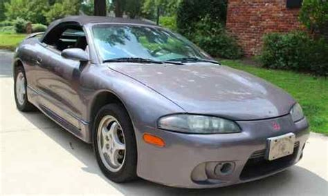 buy used 1997 mitsubishi eclipse spyder gs convertible 2 door 2 4l in columbia south carolina