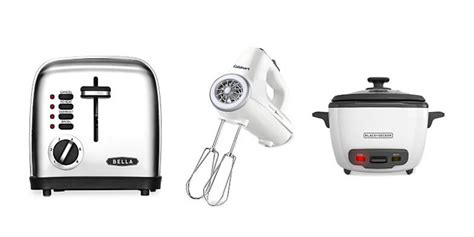 macy kitchen appliances macy s small kitchen appliances 7 99 after rebate reg
