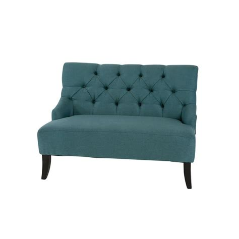 teal settee sofa settee archives a chair affair inc
