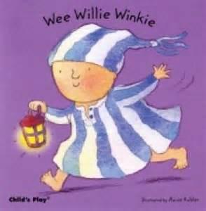 Wee willie winkie board book