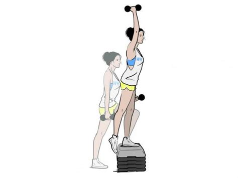 bench lunge bench lunge with press to target glutes women s health