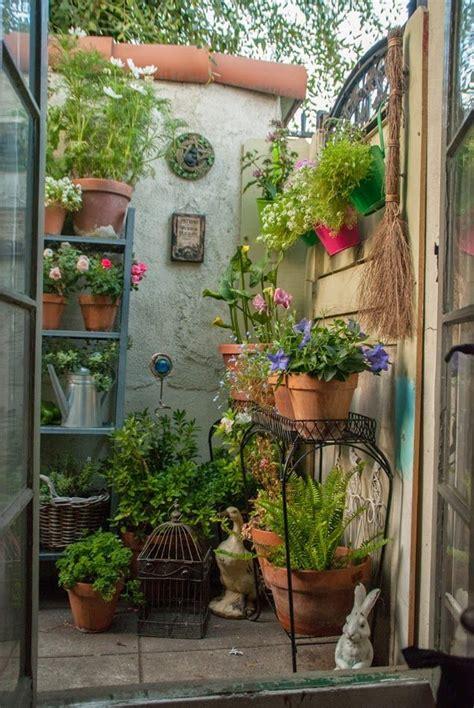 container garden courtyard gardens design