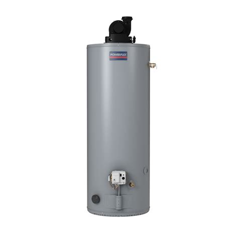 Water Heater Gas shop powerflex 50 gallon 6 year gas water heater at lowes