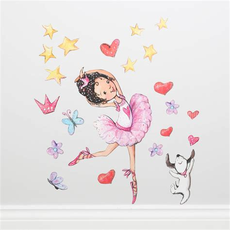 ballerina wall stickers ballerina wall stickers by my 1st years