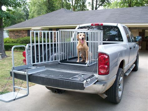 Truck Bed Dog Crate Korrectkritterscom