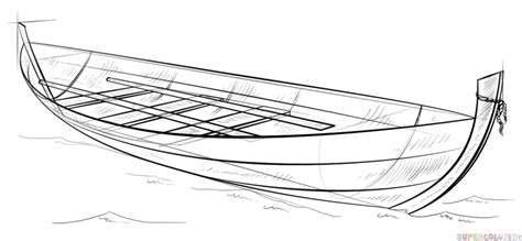 how to draw a boat figure 8 how to draw a boat step by step drawing tutorials