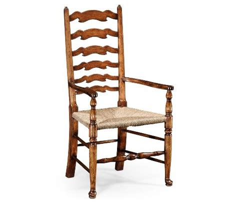 Country Ladder Back Dining Chairs by Country Ladder Back Dining Arm Chair For Dining Space
