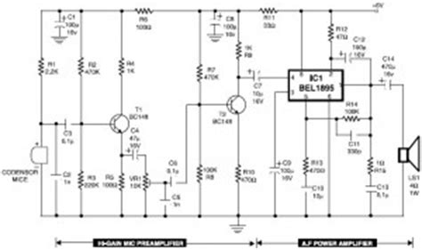 stage center reverb schematic tone control circuit schematic mic get free image about