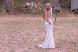 bohemian wedding dress bohemian lace wedding dress onewed