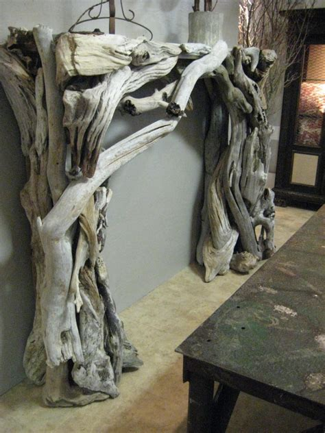 creative decoration of driftwood mantels homesfeed
