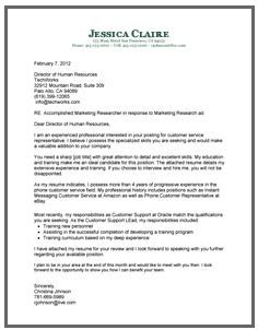 cover letter for a sales position cover letter examples for your job search