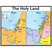middle east map then and now abingdon bible land map set with tripod 9780687043378