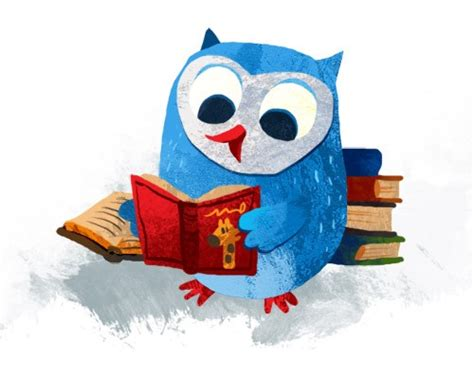 owl reading book owl reading book view original image projects to try
