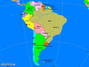 political map south america south america political map a learning family