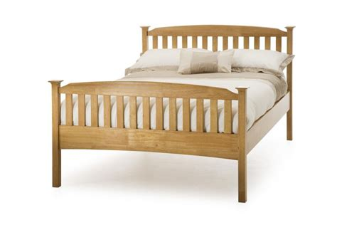 High Wood Bed Frame Wooden Beds Serene Eleanor High Foot End Bed Frame Click 4 Beds