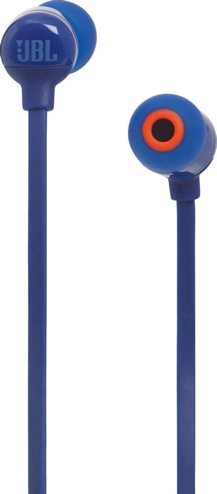 Headset Jbl T110 jbl t110 blue bluetooth in ear earphones in ear