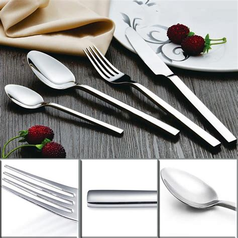 Western Cutlery Set square handle flatware set western cutlery set stainless