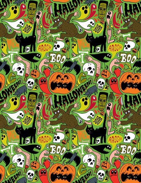 halloween pattern tumblr happy halloween chris piascik