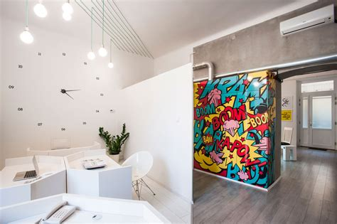 home accessories design brand this office is filled with graphics and artwork inspired
